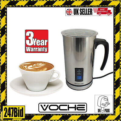 Voche® Stainless Steel Electric Milk Frother And Warmer Latte Cappuccino Foamer