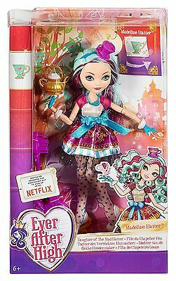 Ever After High Dolls - First Chapter - Madeline Hatter - BBD43 - New