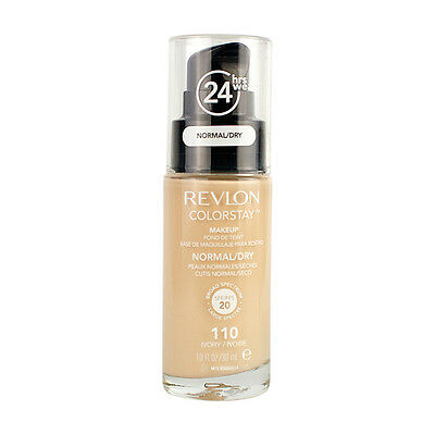 Revlon Colorstay Makeup Liquid Foundation Normal/Dry Skin - 110 Ivory 30ml