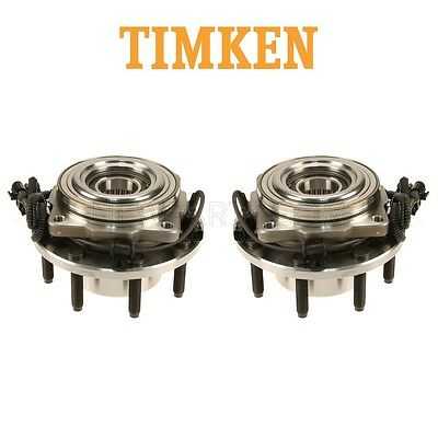 For Ford F-250 F-350 Super Duty Pair Set of 2 Front Wheel Hub Assemblies Timken