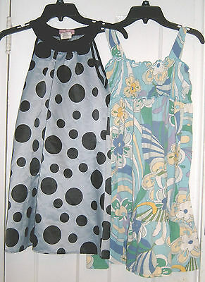 GAP KIDS FLORAL & SWEET CHARM POLKA DOT PARTY DRESS Size XL 12 GIRLS SUMMER LOT