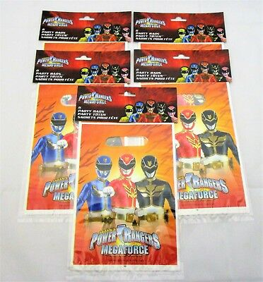 Pack of 30 Power Rangers Mega Force Party bags - Party Favor Loot Bag