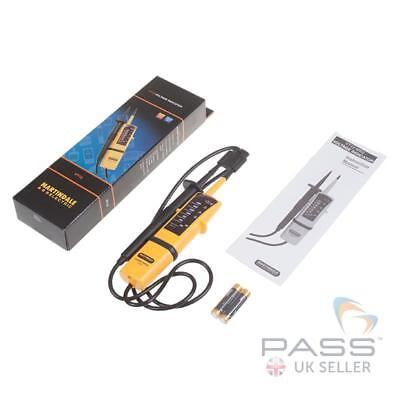 *NEW* Martindale VT12 Voltage & Continuity Tester - LED, GS38 Indicator / UK