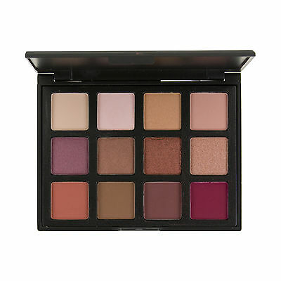 Blush Professional 12 Colour Blushed Eyeshadow Palette