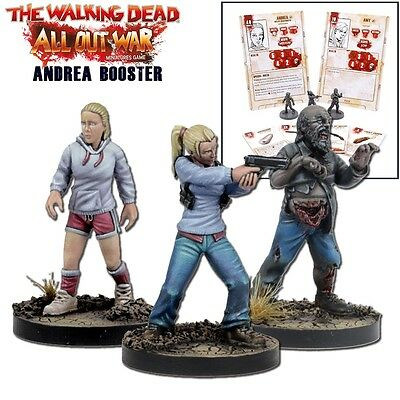Mantic Games The Walking Dead All Out War Miniatures Game Andrea Booster