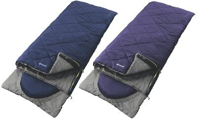Outwell 3 Season Single Contour Lux Sleeping Bag Camping