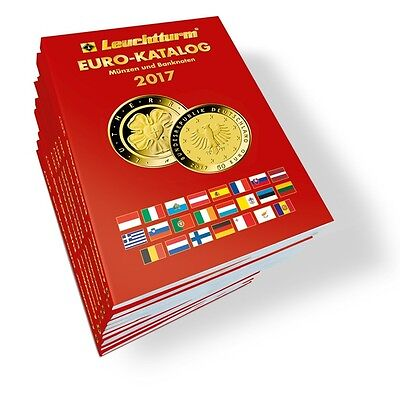 Euro Commemorative Coins & Banknote Price Guide Catalogue 2017 Edition, New Book