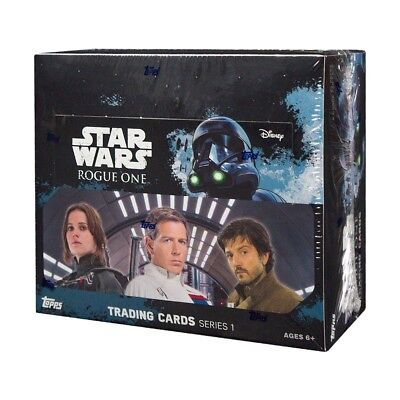 2016 Topps Star Wars Rogue One 24ct Retail Box