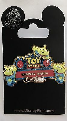 Pin Trading Disney Toy Story Midway Mania Disneyland Resort