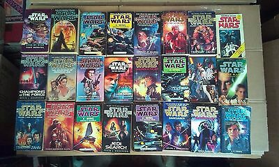 24 Books Collection of Star Wars (Various Authors)