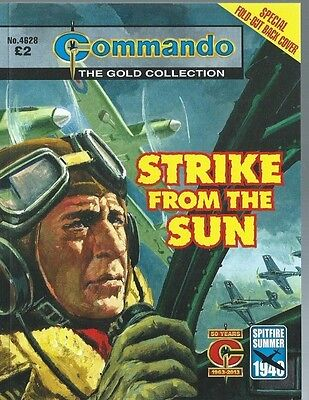 Strike From The Sun,commando The Gold Collection,no.4628,war Comic,2013