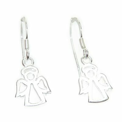 Angel sterling silver hook earrings .925 x 1 pair Angels drops CI300257--HOOKS