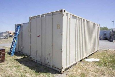 Shipping Container (20 Foot) ---Fairfield, California Pickup