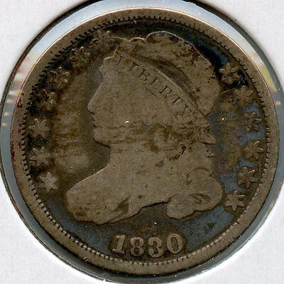 1830 Capped Bust Dime MM790
