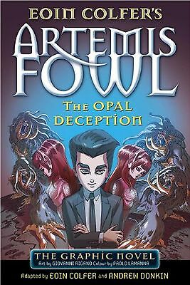 The Opal Deception: The Graphic Novel (Artemis Fowl Graphic Novels) NEW BOOK