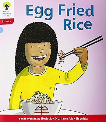 Oxford Reading Tree: Level 4: Floppy's Phonics: Egg Fried Rice (Flop... NEW BOOK