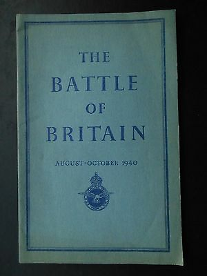 BOOK - The Battle of Britain  August - October 1940 - 1st 1941 HMSO