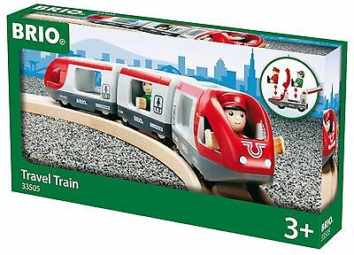 BRIO Travel Train Wooden Toy New Free Post