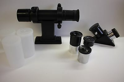 """.965"""" Telescope 3 Eyepiece finder diagonal Replacement Kit 6mm 12.5mm 20mm NEW!"""