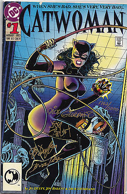 Catwoman Vol. 2 (1993)) #1 Signed Duffy, Balent, Giordano, Buzz Setzer 1762/5000
