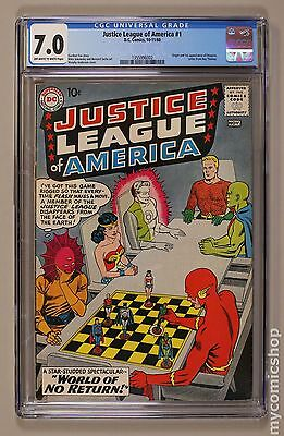 Justice League of America (1960 1st Series) #1 CGC 7.0 1355996002