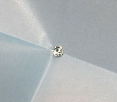 Round Brilliant Loose Natural 0.21 Carat Diamond SI1 H/I NEW