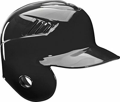 Rawlings Single Flap CFSER-B-89 M (7 1/8 - 7 1/4) Black Batting Helmet