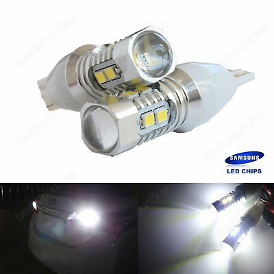 2x Canbus 501 T15 168 W16W Bulb SAMSUNG SMD LED Indicator Tail Stop Signal Light