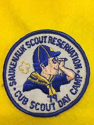 Boy Scouts-  '79 Cub Scout Day Camp @ Saukenauk Scout Reservation patch