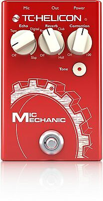 TC-Helicon*Mic Mechanic 2*Electronics Vocal Effects Stompbox Pedal FREE 2DAY NEW
