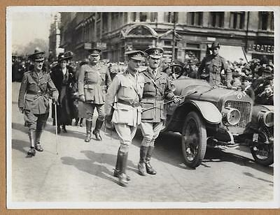 WWI General Birdwood Austrialia Day in London England 6x8 Press Photo