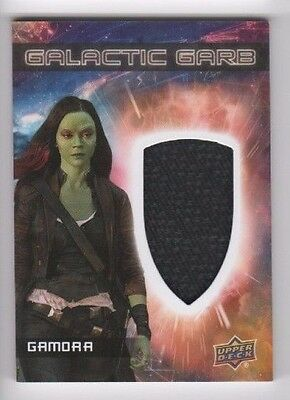 2017 Guardians of the Galaxy 2 costume card SM-10 Gamora