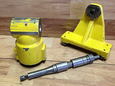 Nice Excello Milling Machine Right Angle Milling Head W. Arbor + Support