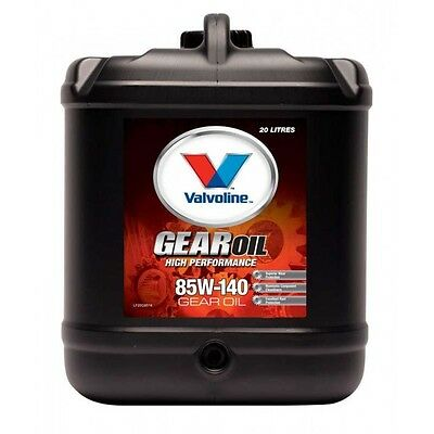 Outboard & Sterndrive Gear Oil High Perf 85W-140 Semi Synth Gl5 20 Ltr Valvoline