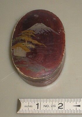 Antique small Japanese lacquer box