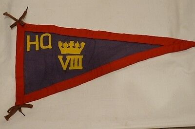 Canadian 8th Hussars 8th CH Headquarters Vehicle Pennant