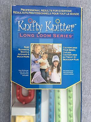 Knifty Knitter Long Loom Series by Provo Craft, 4 Long Looms Medium 4 NEW