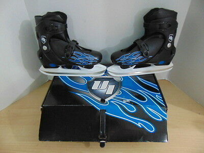 Ice Skates Child Size 3-6 Youth Adjustable NEW With Blade Cover Ultra Ice