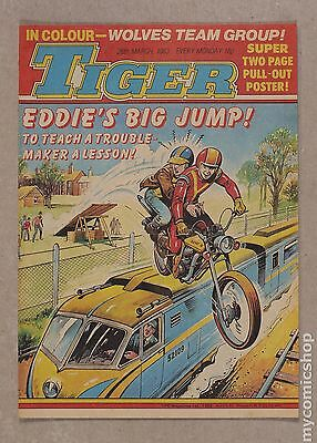 Tiger Tiger and Hurricane/Tiger and Jag/Tiger and Scorcher #830326 FN/VF 7.0