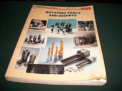 Sandvik Coromant rotating Tools and Inserts product catalogue metalworking book