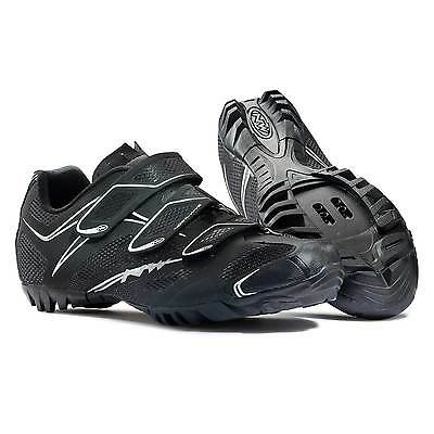 Northwave Touring 3S Mens Road Bike / Cycling Shoes In Black - Size Euro 46