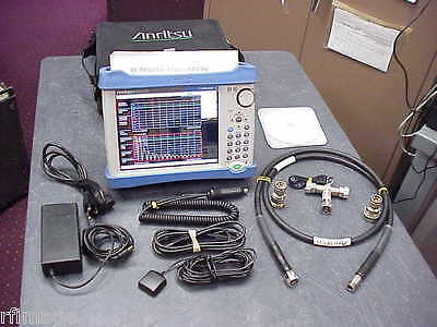 Anritsu Mt8212E Cellmaster Sitemaster  Loaded With Options-Acc-Calkit-Cables