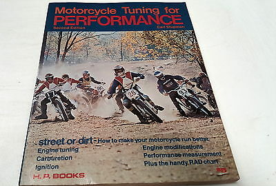 1973 MOTORCYCLE TUNING for PERFORMANCE by Carl Shipman