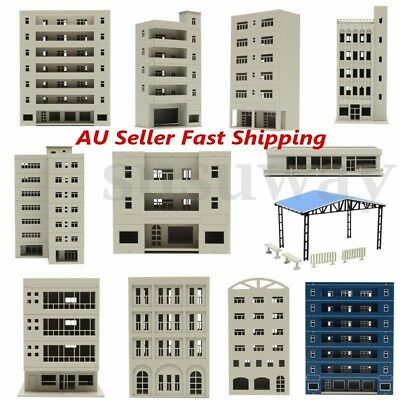 New Unpainted Models Railway Modern School Office Building Train N HO OO Scale
