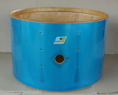 "70's LUDWIG 22"" BLUE CORTEX BASS DRUM SHELL for YOUR MACH DRUM SET! #H715"