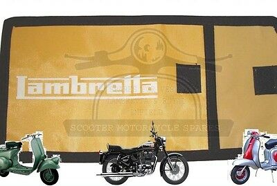TOOL KIT BAG WOVEN POUCH LAMBRETTA LOGO YELLOW @AEs