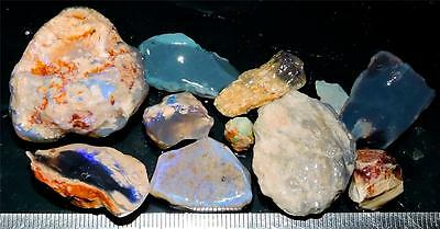 200 Cts #384 Opal Rough And Rough Rubs From Lightning Ridge