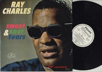 LP Ray Charles - Sweet & Sour Tears PHILIPS MINIGROOVE WHITE LABEL PROMO NM