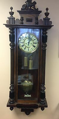 Gustav Becker Double Weight Vienna Clock