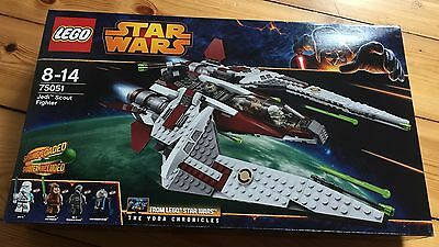LEGO STAR WARS 75051 - Jedi Scout Fighter NEU/OVP Jek-14 *NEW*